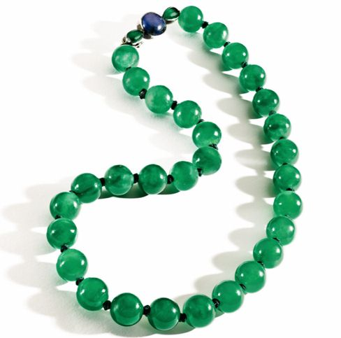翡翠的(种、水、色、净、艺、缘)-珠宝首饰展示图【行业经典】