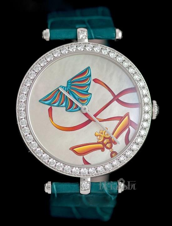 腕间蝶舞 梵克雅宝全新Extraordinary Dials系列腕表