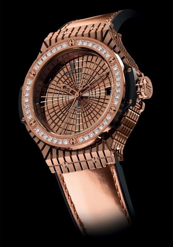 宇舶表HUBLOT全新Big Bang Caviar系列腕表-珠宝首饰展示图【行业经典】