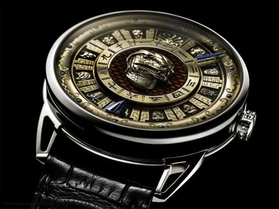 De Bethune:十二生肖头像腕表