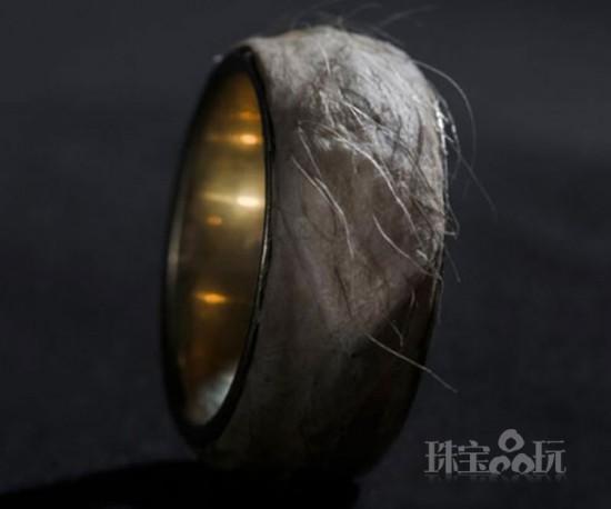 """Sruli Recht:绝对独一无二的""""人皮戒指""""-创意珠宝"""