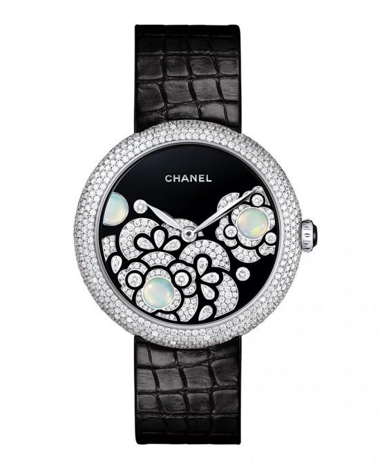 Chanel Mademoiselle Privé全新珠宝腕表系列