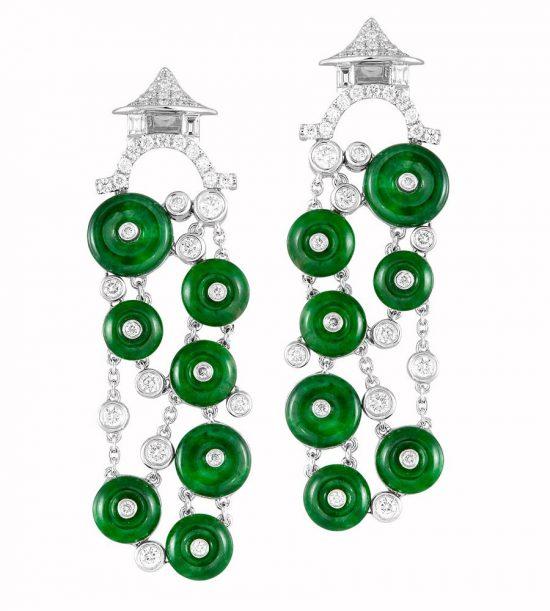 翡翠:绿色的爱意-珠宝首饰展示图【行业经典】