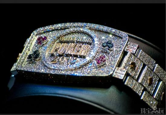2012世界扑克系列赛(WSOP)冠军手链-创意珠宝