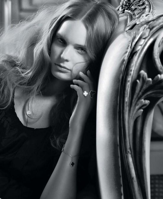 丹麦名模Agnete Hegelund珠宝大片演绎奢华本质-时尚珠宝设计【行业顶级】