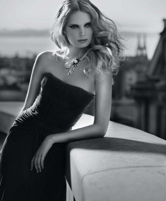 丹麦名模Agnete Hegelund珠宝大片演绎奢华本质