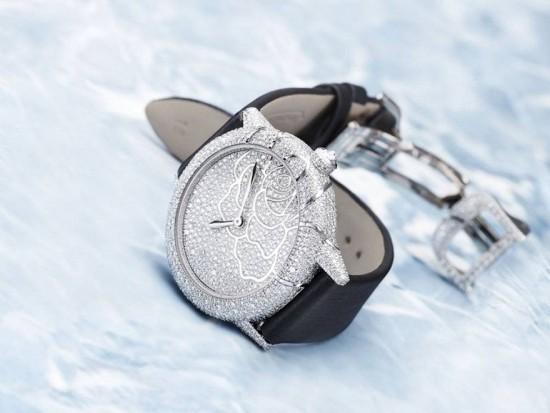 积家表(Jaeger-LeCoultre)69届威尼斯电影节纪念表款-珠宝首饰展示图【行业经典】