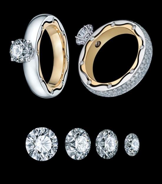 转焕完美人生 Balletto爱•转系列指环-创意珠宝