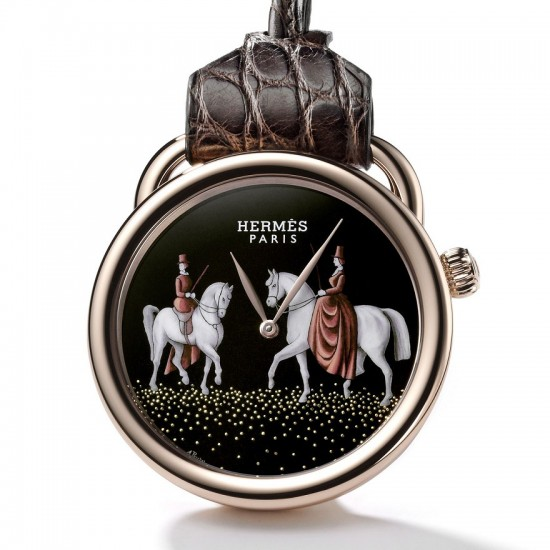 爱马仕(Hermès)Arceau Amazones怀表-珠宝首饰展示图【行业经典】