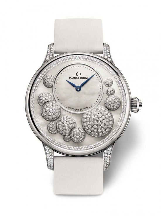 雅克德罗(Jaquet Droz)女装腕表 坠落凡间的星辰-珠宝首饰展示图【行业经典】