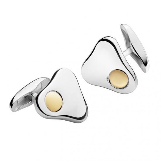 奢华的点缀 Georg Jensen纯银袖扣系列-珠宝首饰展示图【行业经典】