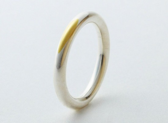 gold wedding ring:见证爱的痕迹-创意珠宝