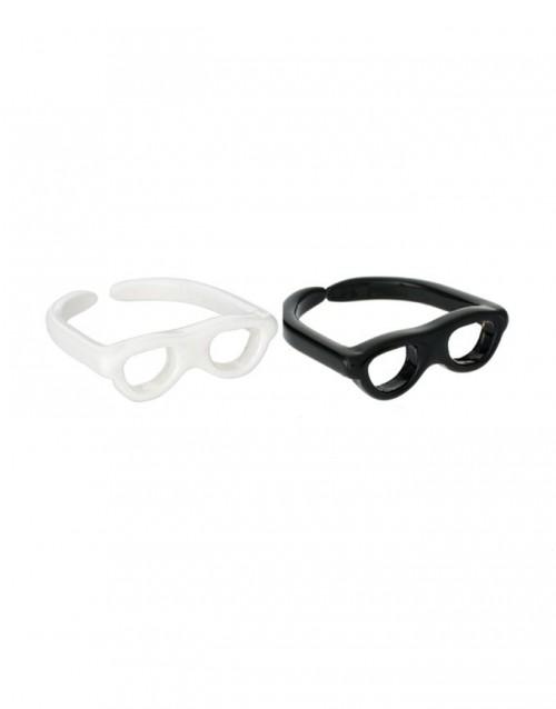 激发你的小淘气 太阳眼镜戒指-创意珠宝