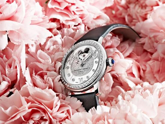 爱的延续 康斯登推出Pavée Amour全新款腕表-时尚珠宝设计【行业顶级】