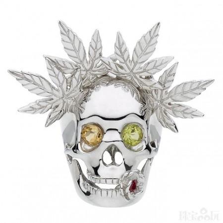 Franck Montialoux:骷髅控-创意珠宝