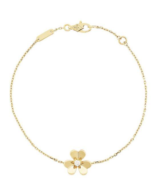 绽放春意 梵克雅宝推出新款Frivole系列珠宝-珠宝首饰展示【行业精选】