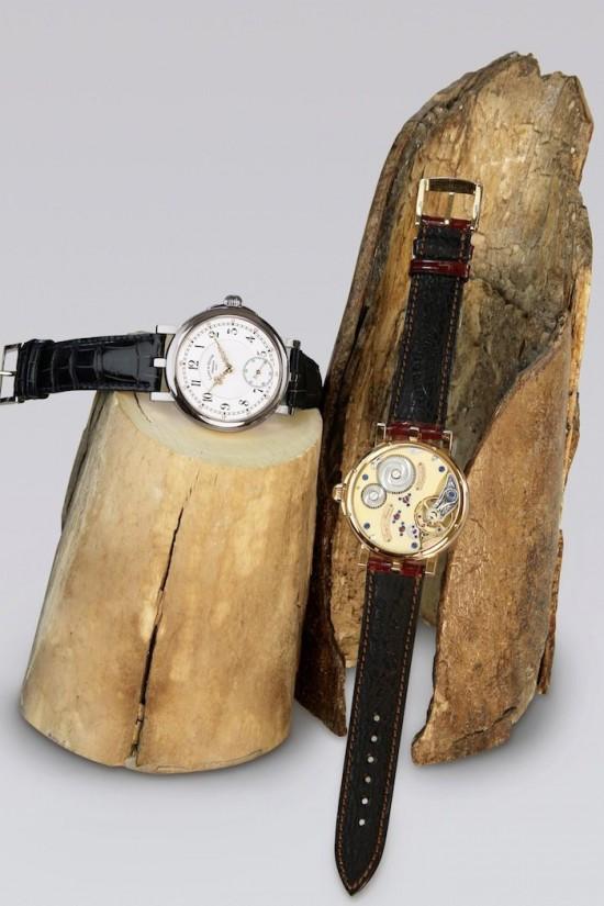 朗&海涅(Lange & Heyne)猛犸象牙机芯腕表-珠宝首饰展示图【行业经典】