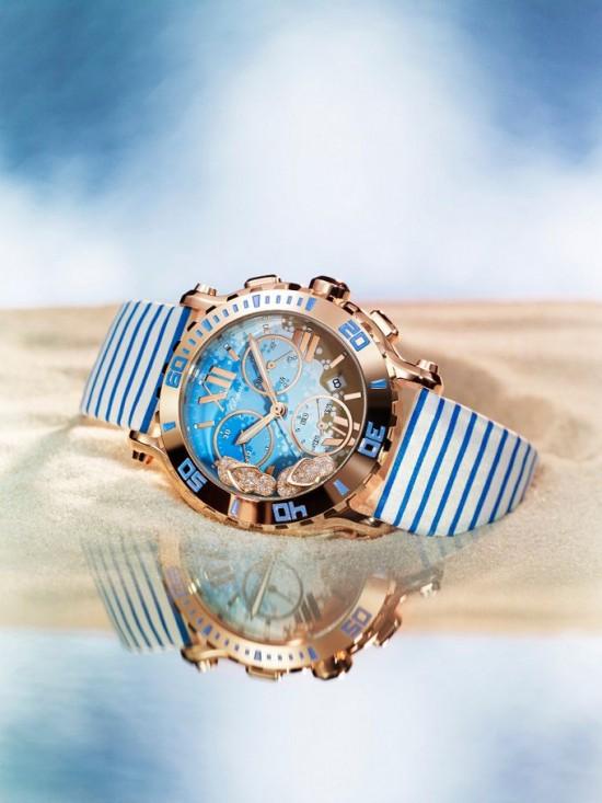 Chopard推出全新快乐海滩腕表-时尚珠宝设计【行业顶级】
