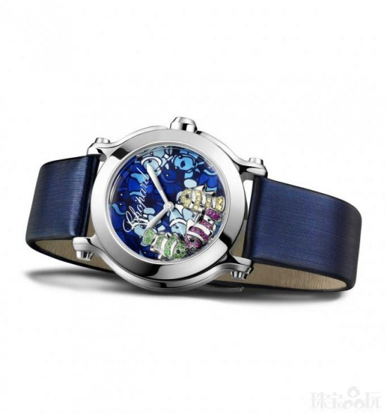 Chopard Happy Fish腕表 邀你畅游海底世界-时尚珠宝设计【行业顶级】
