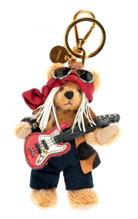 PRADA普拉达圣诞小熊吊饰-时尚珠宝设计【行业顶级】