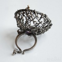 Selda Okutan:3D雕塑指环-创意珠宝