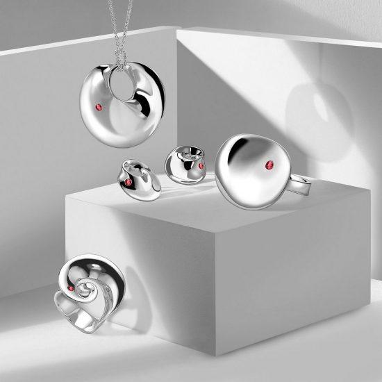 Georg Jensen X Gemfields合作推出全新珠宝系列
