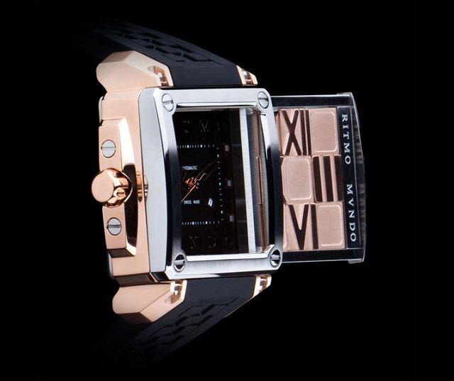 RITMO MVNDO:拼图腕表-时尚珠宝设计【行业顶级】