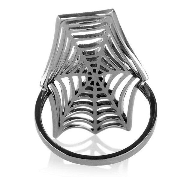 个性装扮 STONE蜘蛛网戒指-创意珠宝