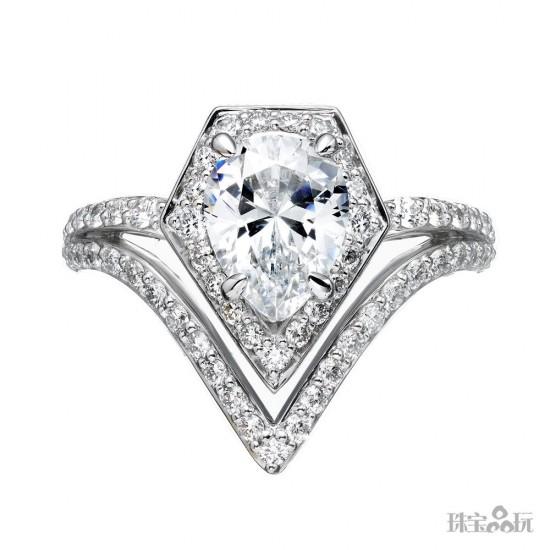 又添跨界新作 老佛爷Karl Lagerfeld打造全新婚戒系列-珠宝首饰展示【行业精选】