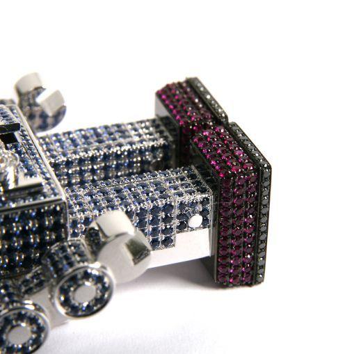 QEELIN的机械人情结-创意珠宝