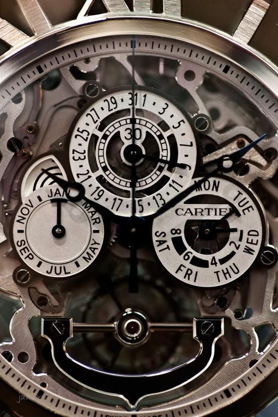 卡地亚Cartier Skeleton Pocket Watch-珠宝首饰展示图【行业经典】