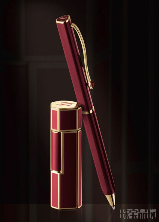 S.T. Dupont x Karl Lagerfeld联名系列钢笔-时尚珠宝设计【行业顶级】