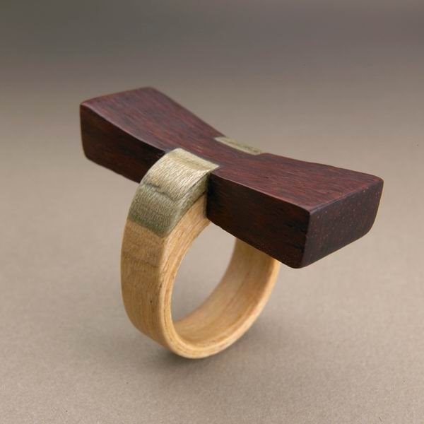 Gustav Reyes设计的木质首饰-创意珠宝