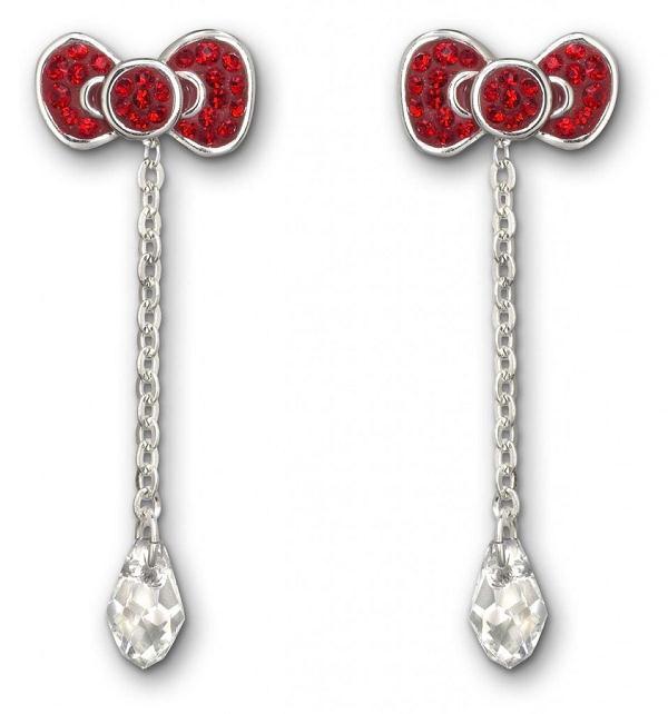 Swarovski x Hello Kitty合作推出全新配饰-时尚珠宝设计【行业顶级】