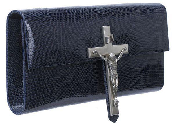Our Lord & Saviour耶稣十字架手包-时尚珠宝设计【行业顶级】