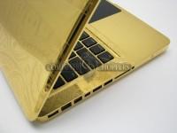 Computer Choppers:24K纯金MacBook Pro-珠宝首饰展示图【行业经典】