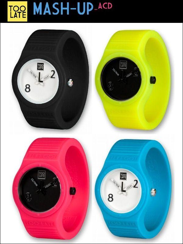 讽刺时间 TOO LATE 2011新款手表-时尚珠宝设计【行业顶级】