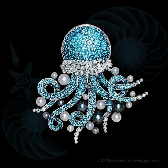2015珠宝流行趋势:海洋珠宝大行其道(二)-珠宝首饰展示【行业精选】