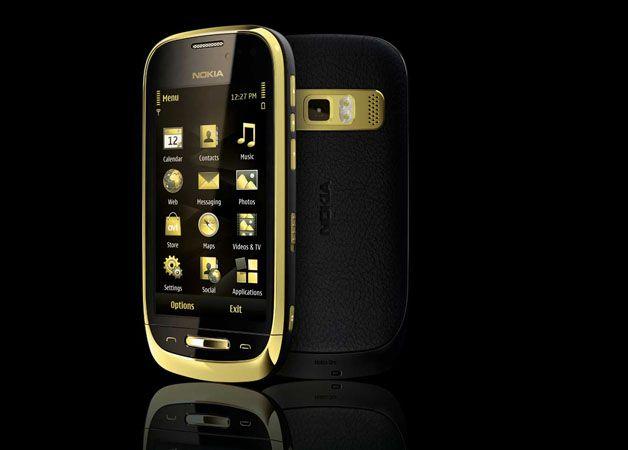 诺基亚(Nokia)发布18K镀金智能手机-时尚珠宝设计【行业顶级】