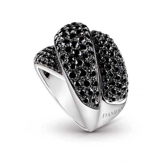 诗意色彩 Damiani Gomitolo周年限量版彩宝戒指