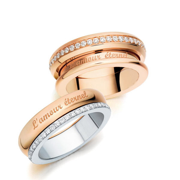 让爱转动 点睛品L'amour Éternel-创意珠宝