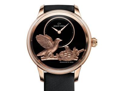 古色古香 雅克德罗(Jaquet Droz)报时鸟腕表-珠宝首饰展示图【行业经典】