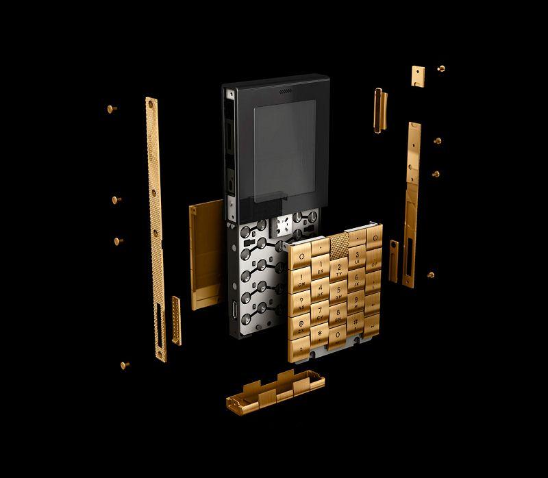 Æ+Y PHONE 黄金手机-珠宝首饰展示图【行业经典】