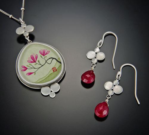 Ananda Khalsa中国水墨画风格首饰-创意珠宝