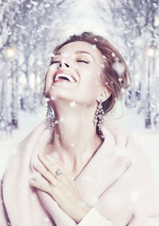 捷克超模Petra Nemcova拍摄Chopard高级珠宝大片-珠宝首饰展示【行业精选】