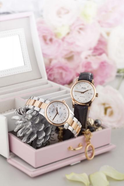 美度(MIDO)Multifort Lady Diamonds先锋系列女士钻表-时尚珠宝设计【行业顶级】
