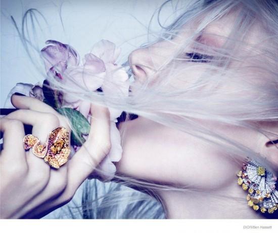《Dior Magazine》2014秋冬珠宝大片