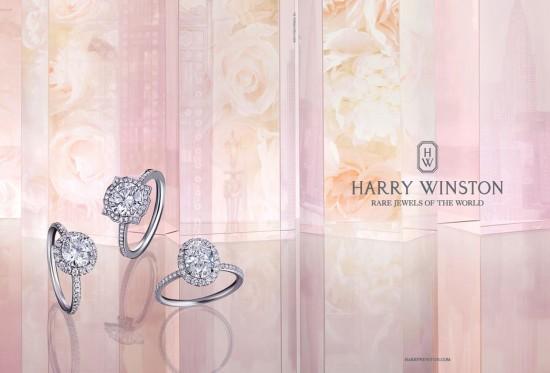 海瑞温斯顿(Harry Winston)2014珠宝广告大片-珠宝首饰展示【行业精选】