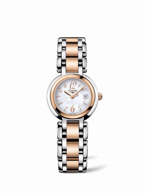 """浪琴表推出""""2011新月系列母亲节限量腕表""""-时尚珠宝设计【行业顶级】"""