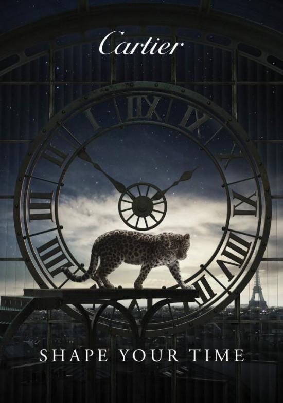 Cartier:Shape Your Time-珠宝首饰展示【行业精选】